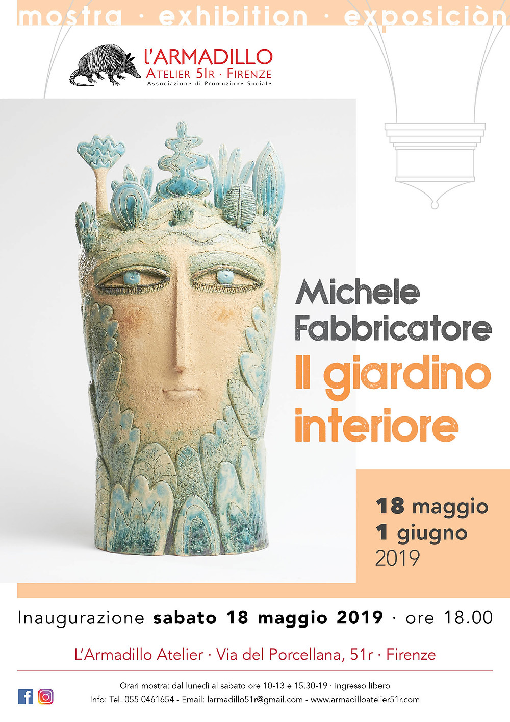 Mostra di ceramica di Michele Fabbricatore