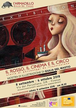 Locandina mostra di Giulia Del Mastio