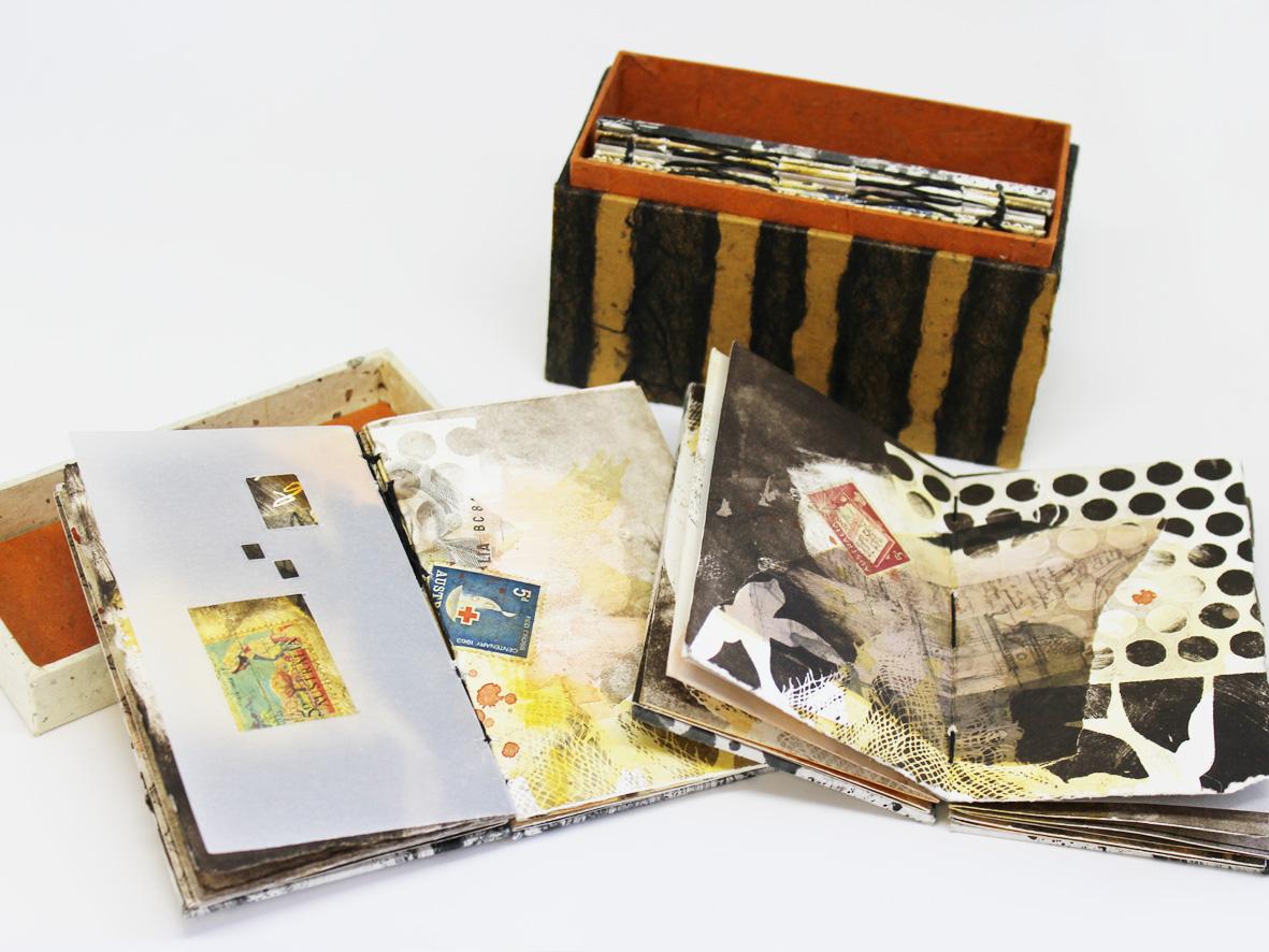 libro d'artista di Elizabeth Burton