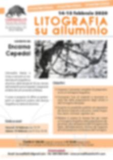 Masterlass di litografia su alluminio