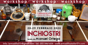 Workshop sugli Inchiostri