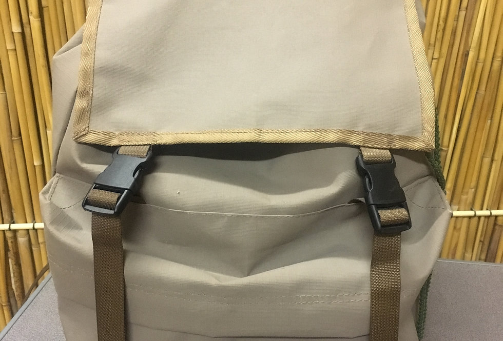 Ruckback canvas bag