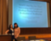 Liz Nguyen and Nicole Hines, Georgia Speech and Hearing Association Conference