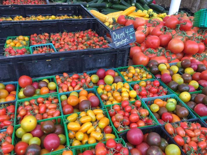 Farmers Market to Houghton Park