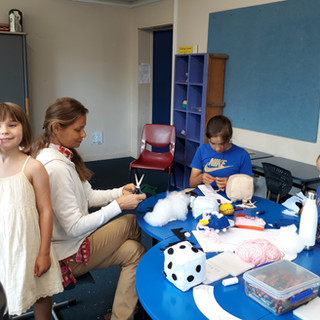 holiday sewing programme for children