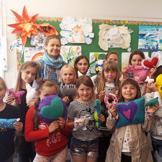 art classes holiday programme