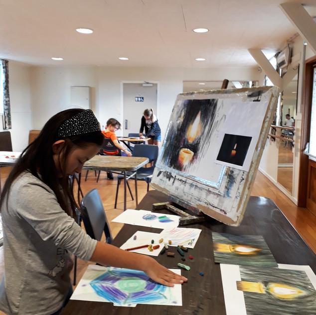 saturday art class children workshop stu