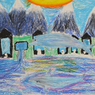 pastel drawing children art classes auck