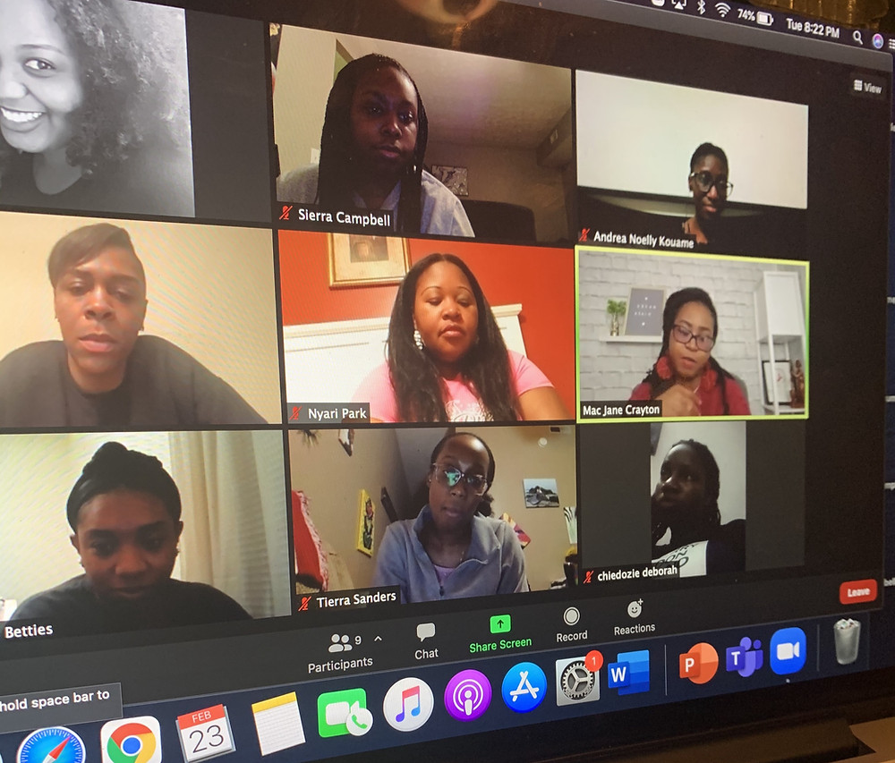 """Dream Mentorship hosts Dream Night. A virtual event that brings together women from across the globe for """"girl talk."""""""