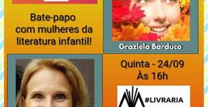 Live Livraria Mulherio das Letras