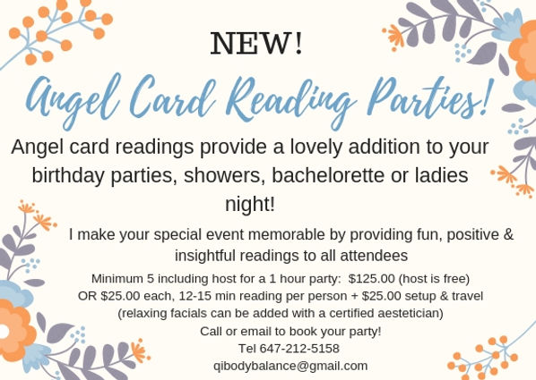 Card reading parties