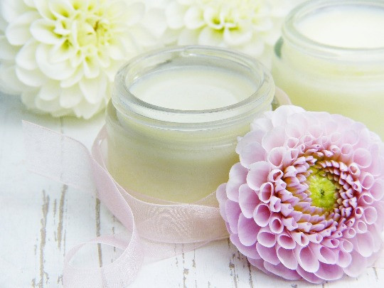Natural skincare cosmetics