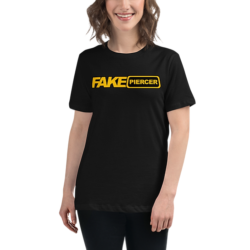 Women's Relaxed Fit Fake Piercer Tee