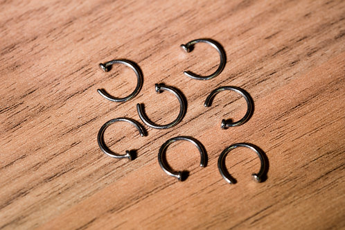 1.0 (18g) Open Nose Ring