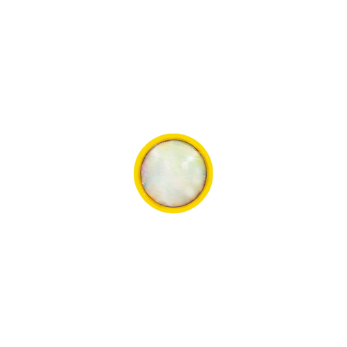 14k Gold Bezel Set Cup Opal
