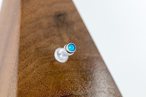 1.2 (16g) Air Blue Opal CZ End