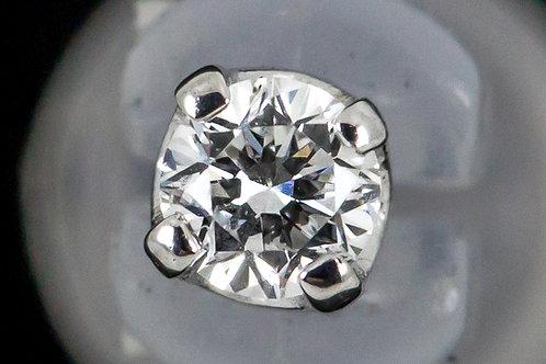 18k Gold Prong Set Swarovski Created Diamond