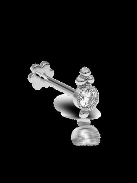 Diamond Four Ball Trinity Threaded Stud