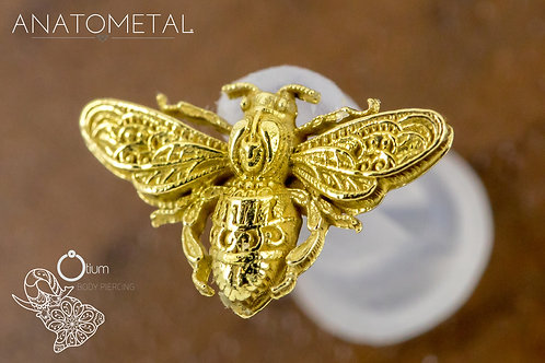 Anatometal 18k Yellow Gold Bee