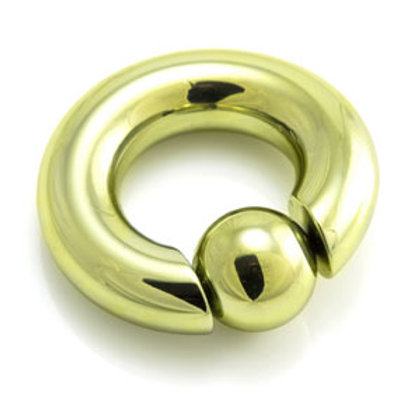7mm Titanium 'Easy Clip In' Captive Ring
