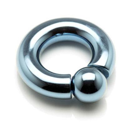 7mm Titanium 'Screw In Ball' Captive Ring