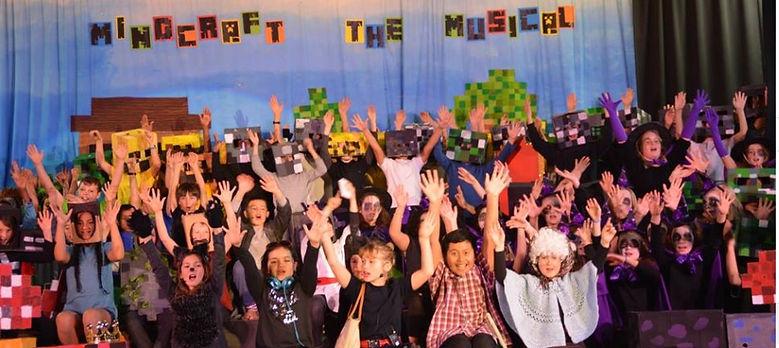 Mindcraft The Musical cast - Woodstock S