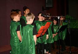 Saint Patrick play, special choir