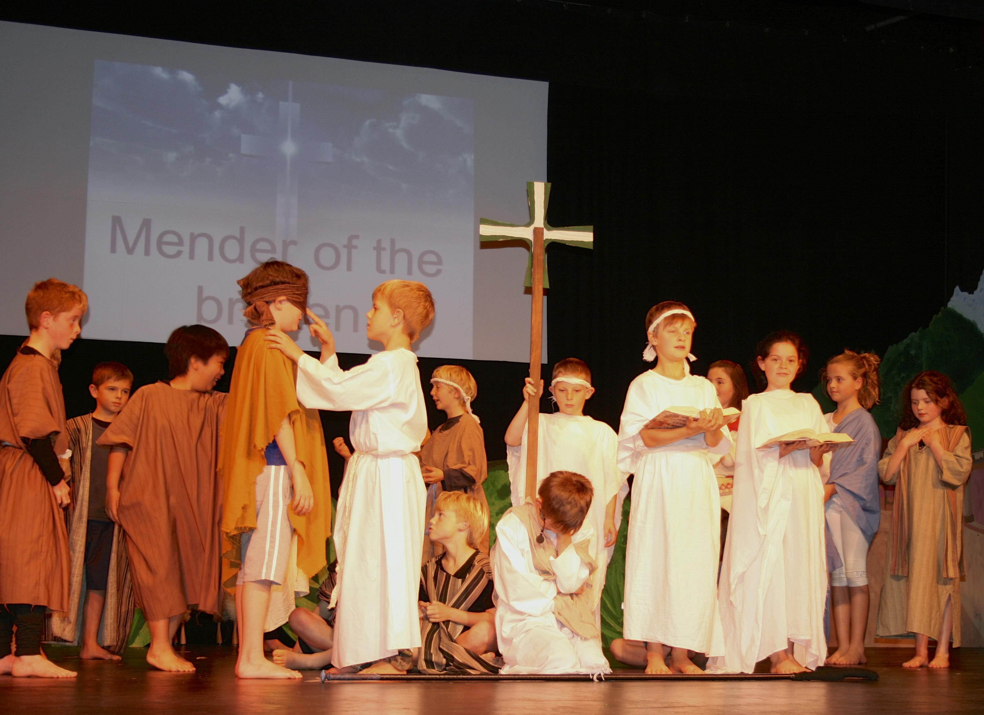 Saint Patrick remembers Jesus