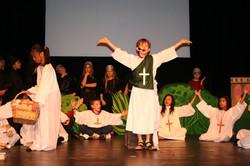 Saint Patrick spreads Christianity