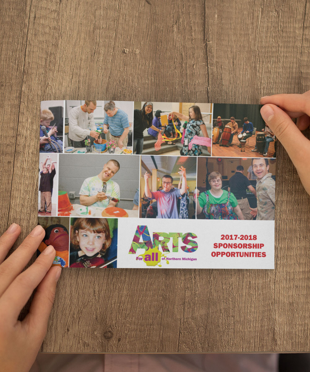 Arts 4 All Sponsorship Catalog
