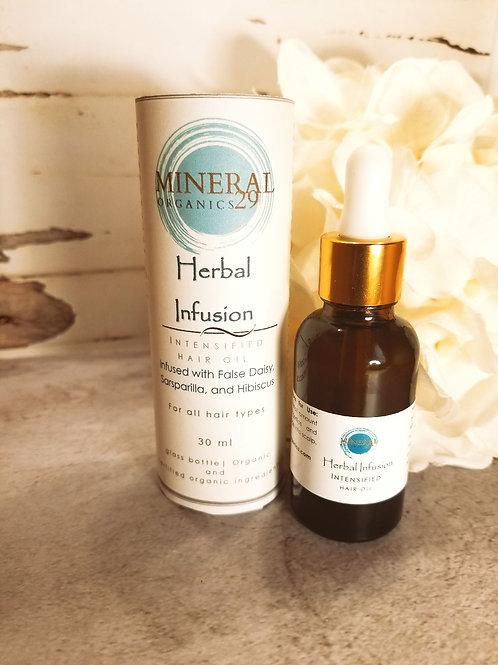Herbal Infusion Intensified Hair Oil, 30 ml