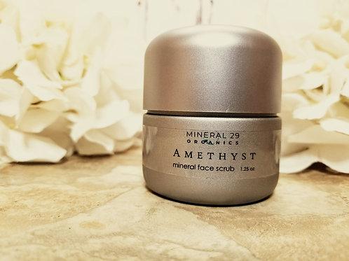 Amethyst Face Scrub, 1.25 oz