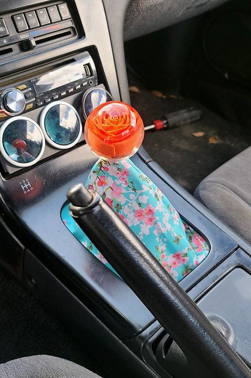 JDM Red Rose Shift Knob 60mm Diameter