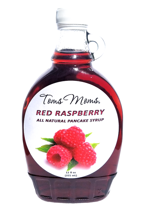 Red Raspberry Pancake Syrup | 12 oz