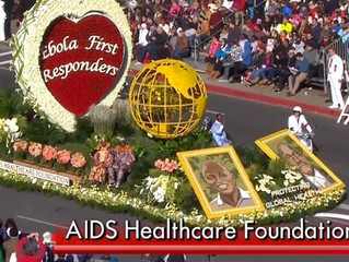 Images and Video from the Rose Parade Honoring Ebola First Responders