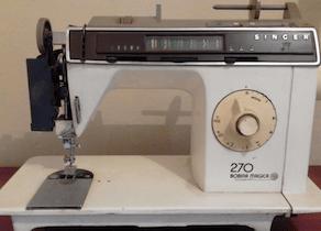 Manual maquina de coser Singer 270
