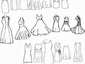 Vestidos que puede hacer a partir del molde básico
