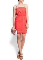 Como coser el vestido con corte en la cintura