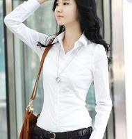 Diferentes estilos de blusas