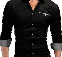 Trazo de la camisa masculina