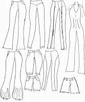 Pantalones que puedes hacer a partir del molde básico