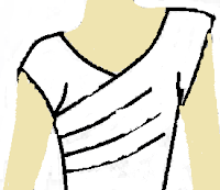 Patrones de blusas asimetricos