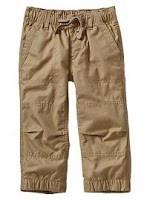 Trazo sencillo del pantalon para niño