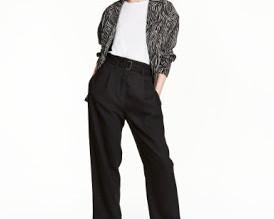 Pantalon con pliegues II
