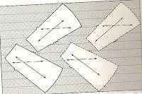 Como cortar patrones al sesgo
