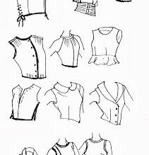 Blusas que puede hacer usando el básico de blusa