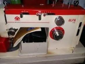 Manual maquina de coser Alfa 1120,1129, 1140