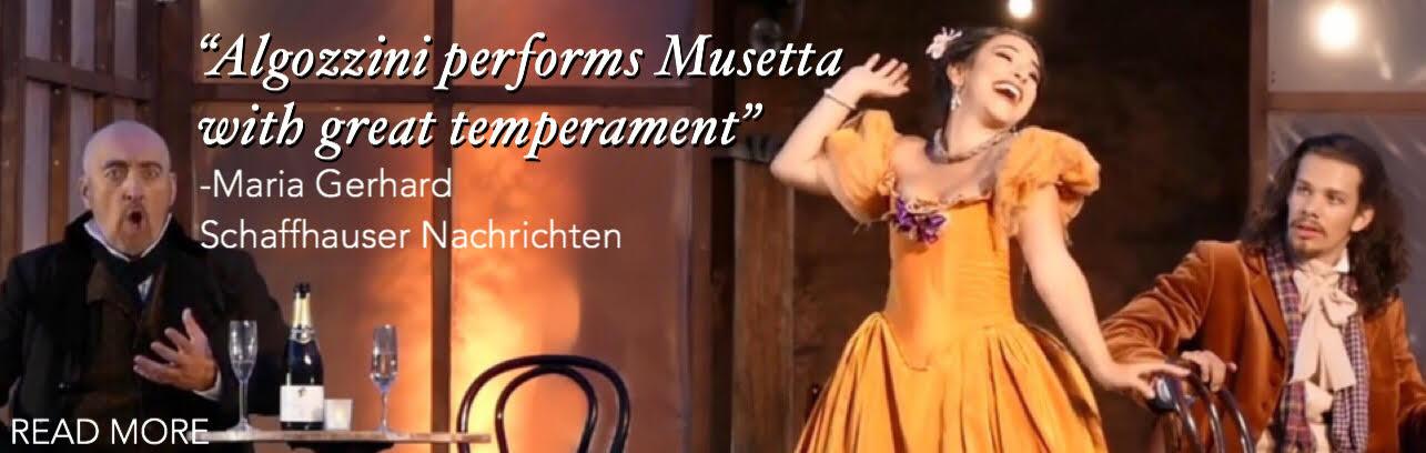 Lisa Algozzini - Musetta - La boheme