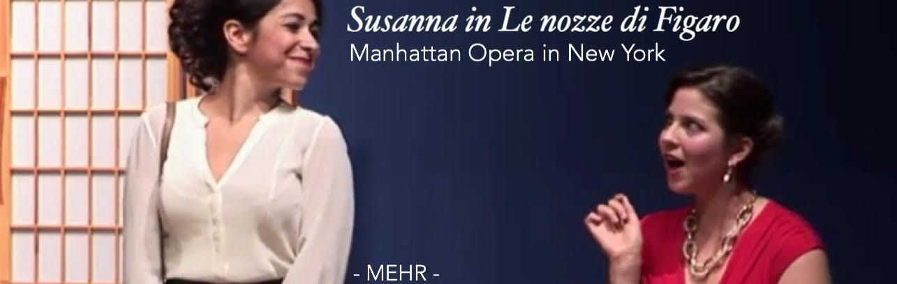 Lisa Algozzini - Susanna - Le nozze di Figaro
