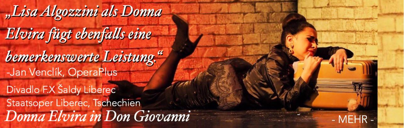 Lisa Algozzini - Donna Elvira - Don Giovanni